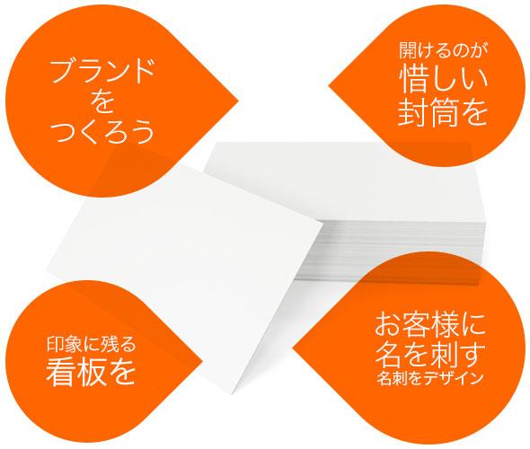 名刺・封筒・サイン・カード等のデザイン